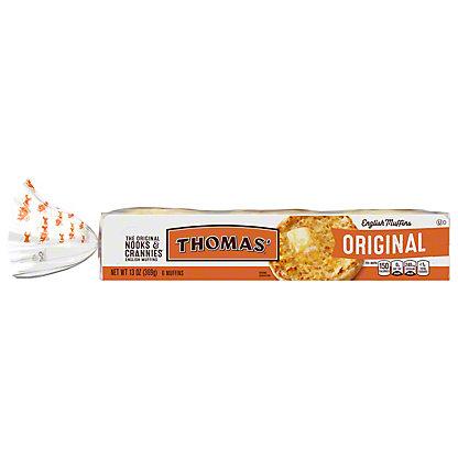 Thomas' Original English Muffins, 6 ea