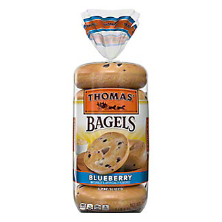 Thomas' Blueberry Pre-Sliced Bagels,6 CT
