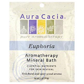 Aura Cacia Pure Aromatherapy Euphoria Mineral Bath, 2.5 OZ