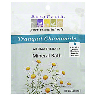 Aura Cacia Pure Aromatherapy Tranquility Mineral Bath, 2.5 oz