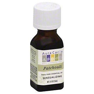 Aura Cacia Pure Aromatherapy Sensualizing Patchouli 100% Pure Essential Oil, 0.5 OZ