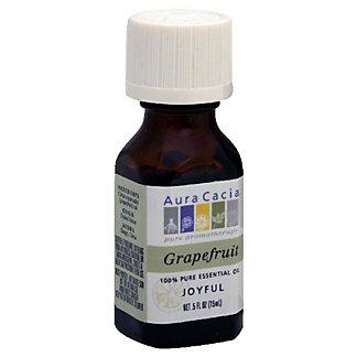 Aura Cacia Pure Aromatherapy Joyful Grapefruit 100% Pure Essential Oil, 0.5 OZ