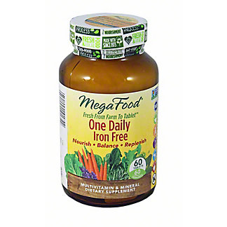 Megafood One Daily Iron Free Tablets, 60 Ct