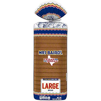 Mrs Baird's Large White Bread,20 OZ