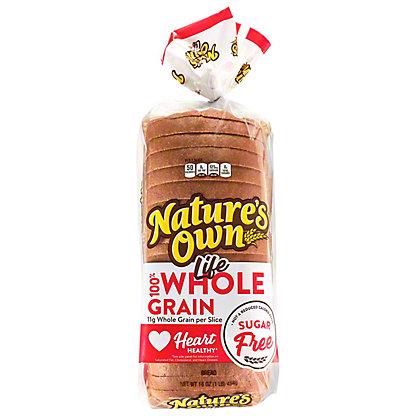 Nature's Own Life 100% Whole Grain Sugar Free Bread,16 oz