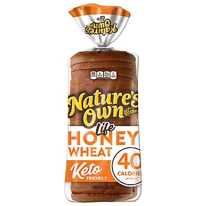 Nature's Own Life: 40 Calorie Honey Wheat Bread,16 oz
