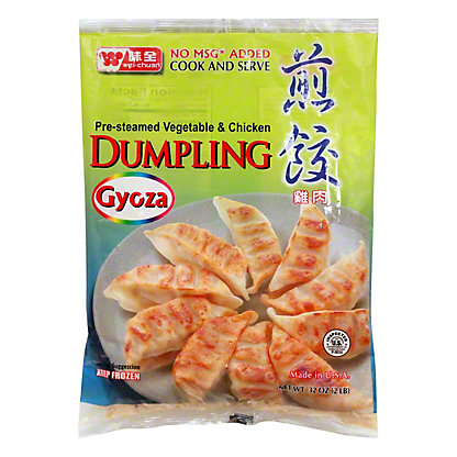 Wei-Chuan Pre-Cooked Chicken Dumplings,50 CT