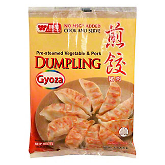 Wei-Chuan Pre-Cooked Pork Dumplings,50 CT