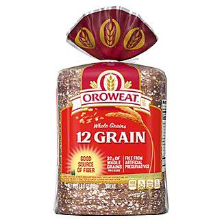 Oroweat 12 Grain Bread, 24 oz