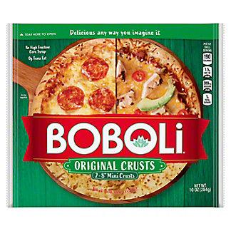 Boboli Mini 8 Inch Pizza Crust,2 CT