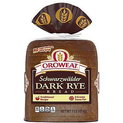 Oroweat Schwarzwalder Dark Rye Bread,16 OZ