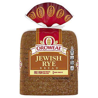 Oroweat Jewish Rye Bread,16 OZ
