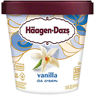Haagen-Dazs Vanilla Ice Cream, 14 oz