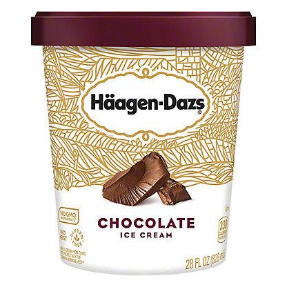 Haagen Dazs Chocolate Ice Cream, 28.00 oz