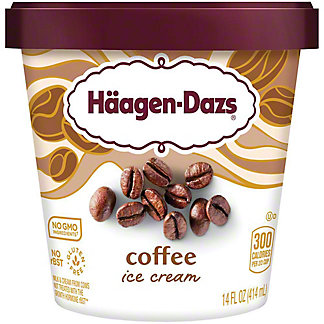 Haagen-Dazs Coffee Ice Cream, 14 oz