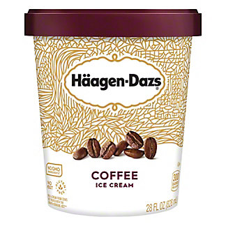 Haagen-Dazs Coffee Ice Cream,28 OZ