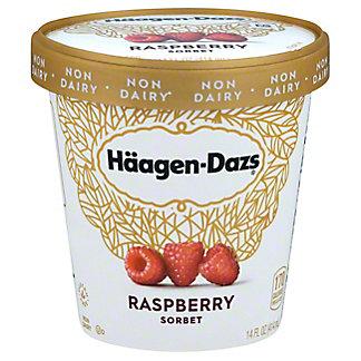 Haagen-Dazs Raspberry Sorbet, 14 oz