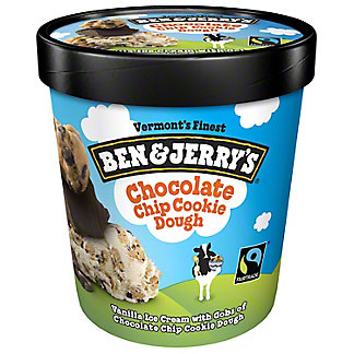 Ben & Jerry's Chocolate Chip Cookie Dough Ice Cream,1 pt