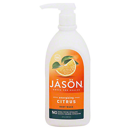 Jason Citrus Satin Shower Body Wash, 30 oz