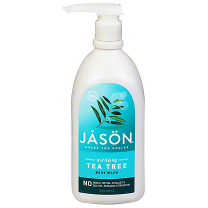 Jason Tea Tree Melaleuca Satin Shower Body Wash,30 OZ