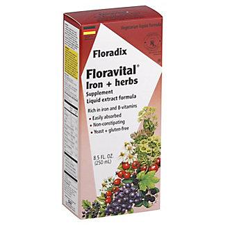 Floradix Floravital Iron + Herbs Liquid Extract Formula, 8.5 oz