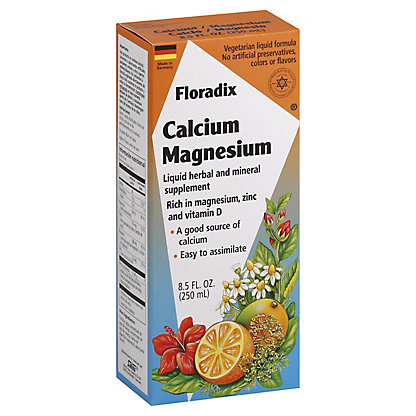 Floradix Calcium-Magnesium, 8.50 oz