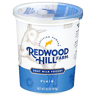 Redwood Hill Farm Goat Milk Plain Yogurt, 32 oz