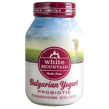 White Mountain Bulgarian Whole Milk Yogurt, 32 oz