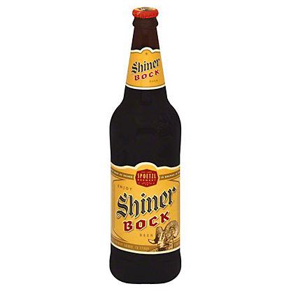 Shiner Bock Beer Bottle,24 OZ