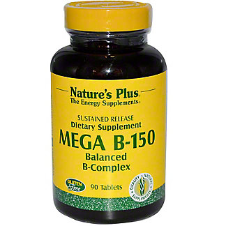 Nature's Plus Mega B-150 Sustained Release Tablets, 90 CT