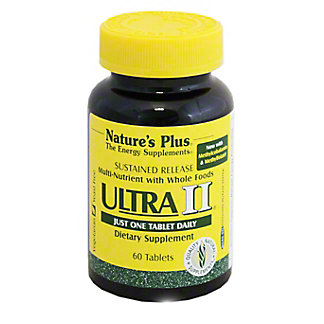 Nature's Plus Ultra Two Sustained Release Capsules, 60 CT