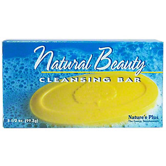 Nature's Plus Beauty Cleansing Bar,3.5 OZ