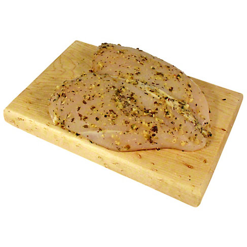 Central Market Garlic Pesto Marinated Boneless Chicken Breast