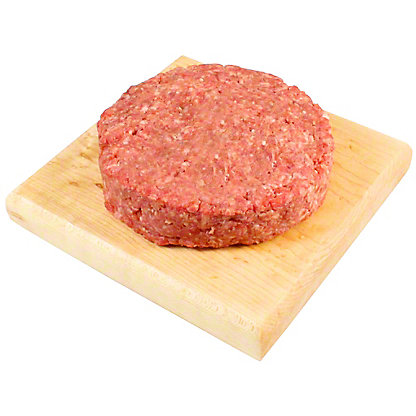 Central Market Natural Ground Angus Chuck Beef Patties,LB