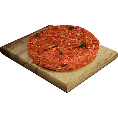 Central Market Cowboy-Bacon Seasoned Burger
