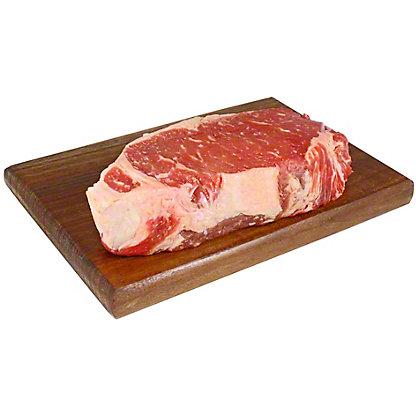 Choice All Natural Angus New York Strip Steak