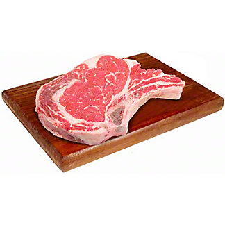 Central Market All Natural Ribeye Steak,LB