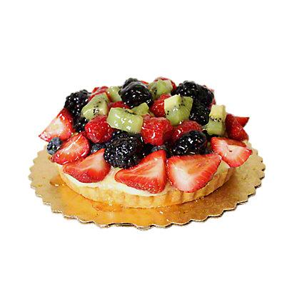 6' Mixed Fruit Tart, EACH