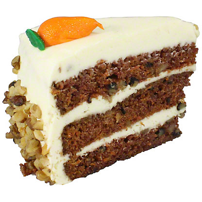Central Market Carrot Cake Slice, 9 OZ