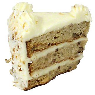 Central Market Italian Creme Cake Slice, ea