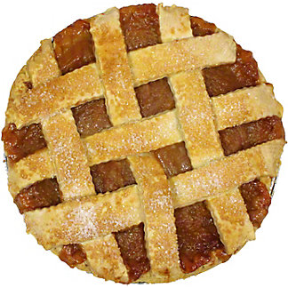 Central Market Freestone Peach Pie, 10 in, Serves 8-10