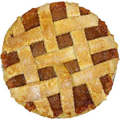 Central Market Freestone Peach Pie, 10 in, Serves 8-10