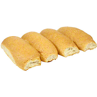 Central Market Wheat Hot Dog Buns, 4 ct