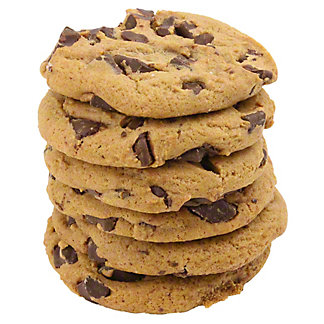 Central Market Chocolate Chunk Cookies, 6 ct