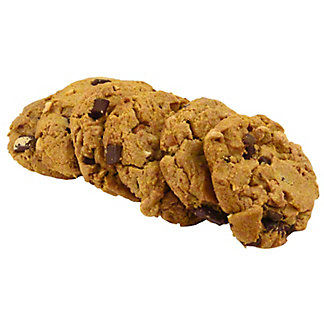 Central Market Peanut Butter Chocolate Chunk Cookies 6 count, 6/2 OZ