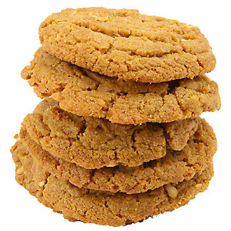 Central Market Peanut Butter Cookies 6 count,6 CNT