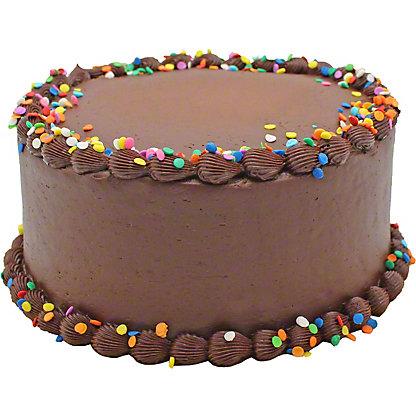 Central Market Chocolate Birthday Cake, 8 inch