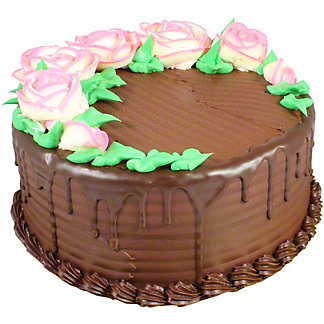 Central Market Chocolate Birthday Cake 8 Inch