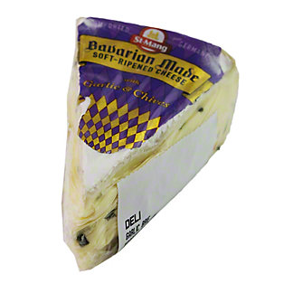 St Mang Ripened Cheese With Garlic & Chives,2/4.5#