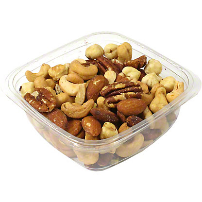 Deluxe No-Salt Mixed Nuts, Sold by the pound